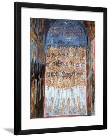 The Forty Martyrs of Sebaste--Framed Giclee Print