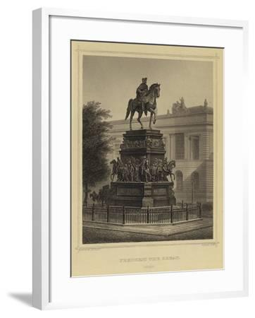 Frederick the Great, Berlin--Framed Giclee Print