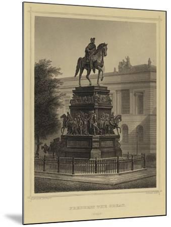 Frederick the Great, Berlin--Mounted Giclee Print