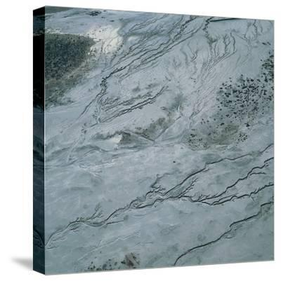 Lake Eyre--Stretched Canvas Print