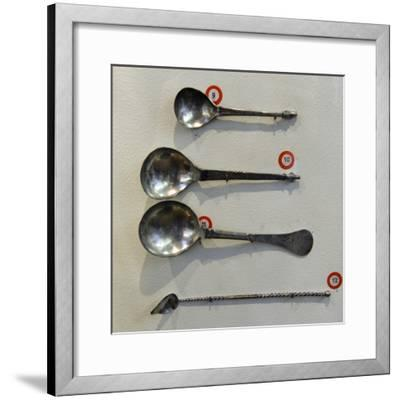 Spoons and Spatula--Framed Giclee Print