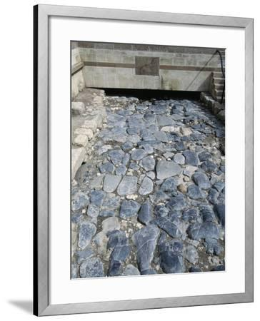 Ruins of the Roman Road--Framed Photographic Print