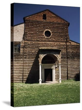Facade of Our Lady of Consolation Church--Stretched Canvas Print