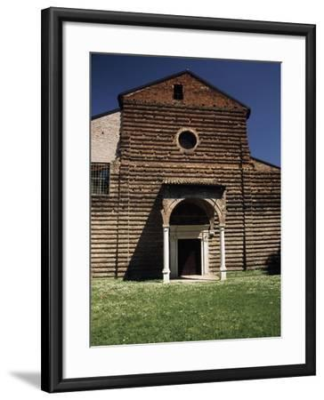Facade of Our Lady of Consolation Church--Framed Giclee Print