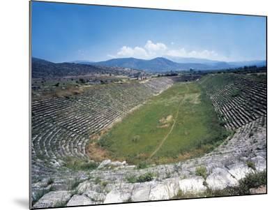 Turkey, Aegean Region, Aphrodisias, Stadium--Mounted Giclee Print