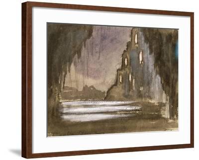Set Design for 'Rusalka'-Franz Dvorak-Framed Giclee Print