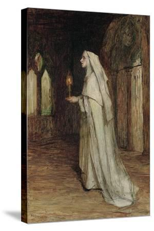 The Nun-William Quiller Orchardson-Stretched Canvas Print