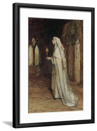 The Nun-William Quiller Orchardson-Framed Giclee Print