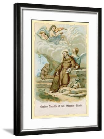 The Ecstasy of St Francis of Assisi--Framed Giclee Print