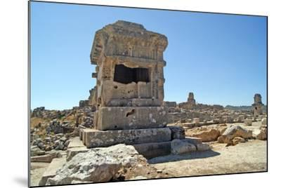 Pillar Tomb, Xanthos, Turkey--Mounted Photographic Print