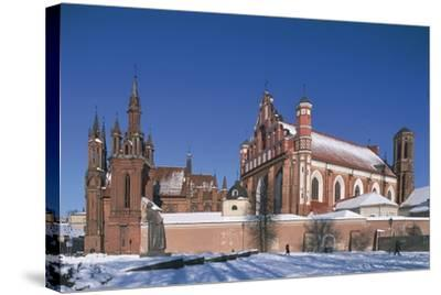 Lithuania, Vilnius, Old Town--Stretched Canvas Print
