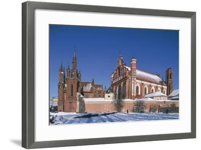 Lithuania, Vilnius, Old Town--Framed Photographic Print