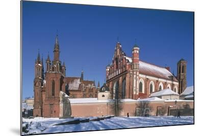 Lithuania, Vilnius, Old Town--Mounted Photographic Print