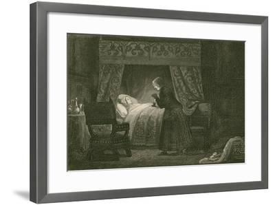 Judith Malmayus Meditating the Murder of Amabel-John Franklin-Framed Giclee Print