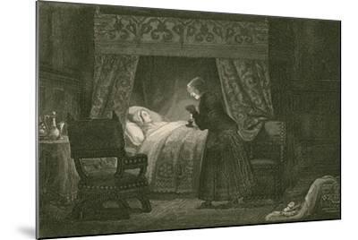 Judith Malmayus Meditating the Murder of Amabel-John Franklin-Mounted Giclee Print