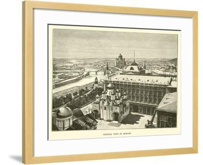General View of Moscow--Framed Giclee Print