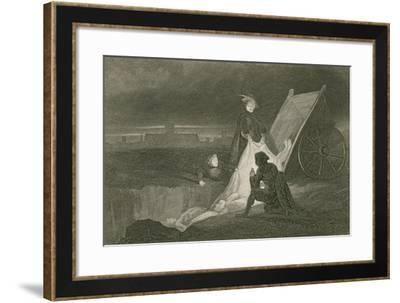 The Plague Pit-John Franklin-Framed Giclee Print