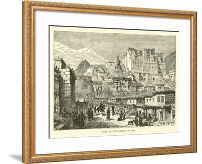 View of the Castle of Leh--Framed Giclee Print