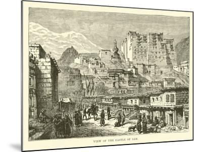 View of the Castle of Leh--Mounted Giclee Print