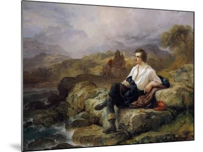 Lord Byron--Mounted Giclee Print
