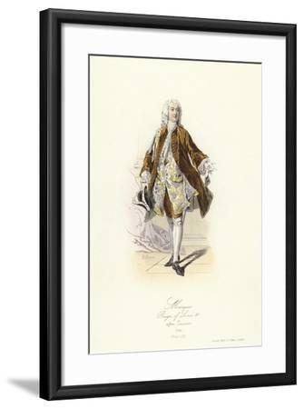 Marquis, Reign of Louis XV of France--Framed Giclee Print