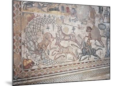 Mosaic of Little Hunt, Villa Romana Del Casale--Mounted Photographic Print