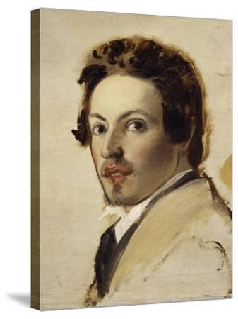 Self-Portrait-Pasquale Massacra-Stretched Canvas Print