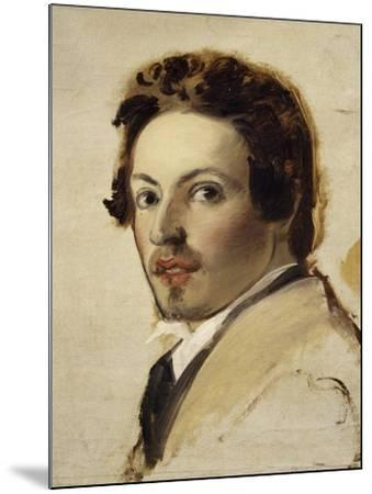 Self-Portrait-Pasquale Massacra-Mounted Giclee Print