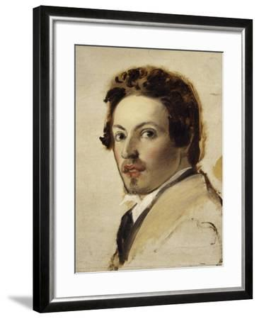 Self-Portrait-Pasquale Massacra-Framed Giclee Print