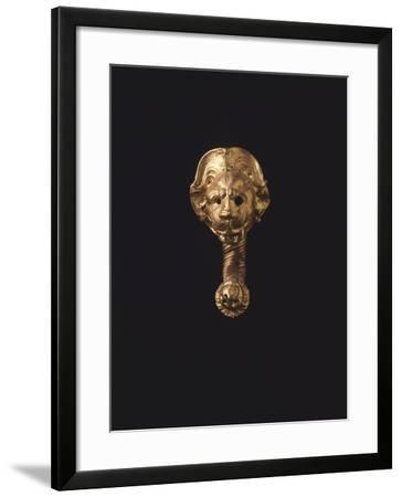 Gold Earring, from Cerveteri--Framed Giclee Print