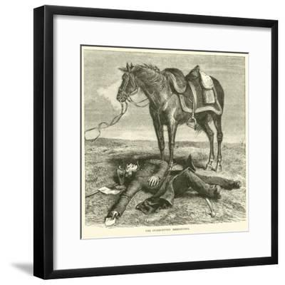 The Intercepted Despatches, January 1871--Framed Giclee Print