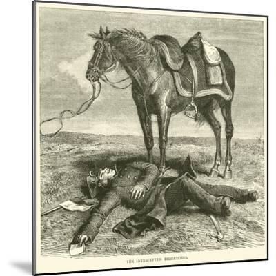 The Intercepted Despatches, January 1871--Mounted Giclee Print