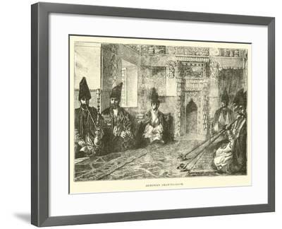 Armenian Drawing-Room--Framed Giclee Print