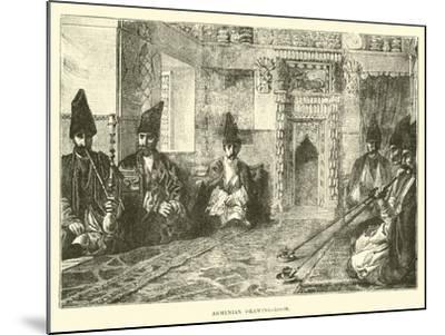 Armenian Drawing-Room--Mounted Giclee Print
