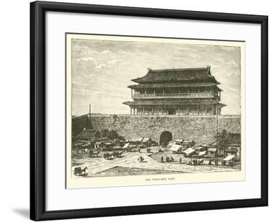 The Tsien-Men Gate--Framed Giclee Print