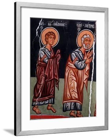 St John and St Peter, 1494-Philippos Goul-Framed Giclee Print