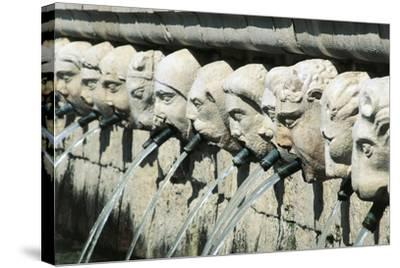 Fountain of 99 Spouts--Stretched Canvas Print