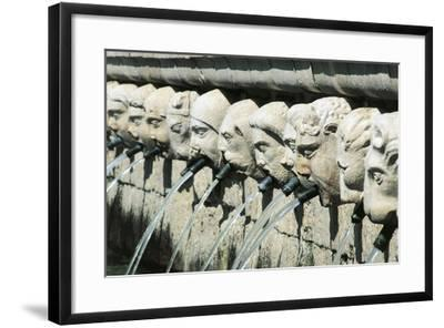 Fountain of 99 Spouts--Framed Giclee Print