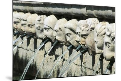 Fountain of 99 Spouts--Mounted Giclee Print