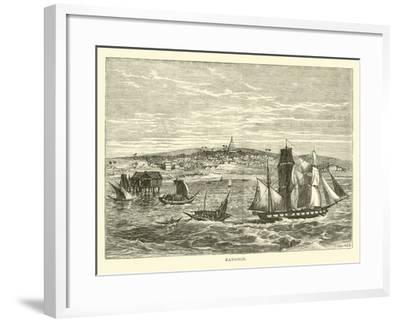 Rangoon--Framed Giclee Print