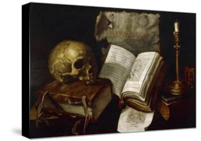 Vanity, 1641-Damien Lhomme-Stretched Canvas Print