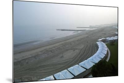 View of the Beach--Mounted Photographic Print