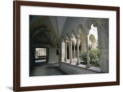 View of Cloister of Dominican Church--Framed Giclee Print