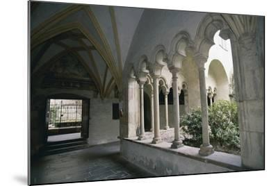 View of Cloister of Dominican Church--Mounted Giclee Print