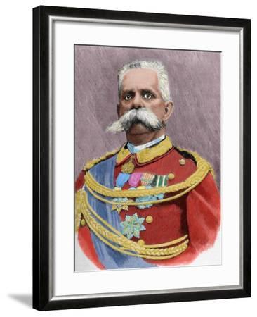 Umberto I or Humbert I--Framed Giclee Print