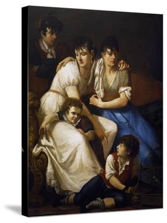 Family Portrait, 1807-Francesco Hayez-Stretched Canvas Print