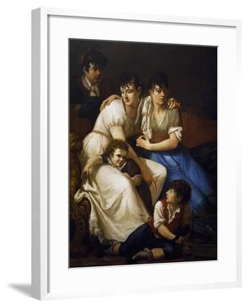 Family Portrait, 1807-Francesco Hayez-Framed Giclee Print