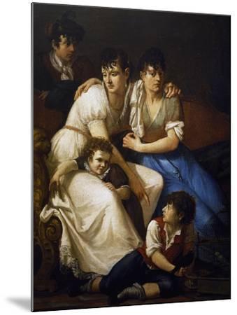 Family Portrait, 1807-Francesco Hayez-Mounted Giclee Print