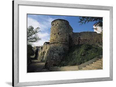 View of the Norman Walls--Framed Giclee Print