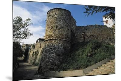 View of the Norman Walls--Mounted Giclee Print